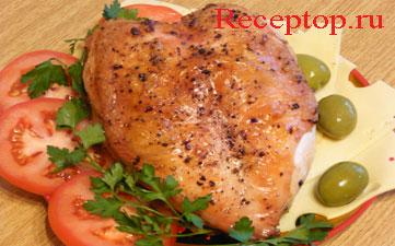 на фото куриная грудка запеченная в духовке