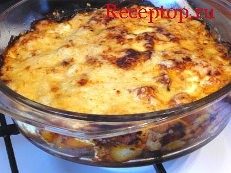Рецепт с тыквы и мяса в духовке