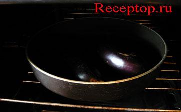 на фото два баклажана запекаем в духовке